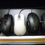 Logicool G300 の 大きさ比較