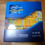 Core i7-3770 LGA1155 アップグレード